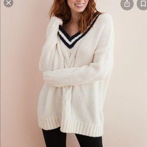 NEW Aerie Wool Blend V-neck Sweater